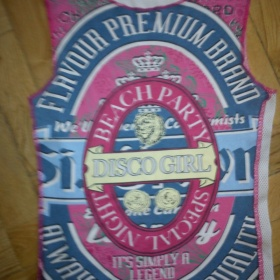 Růžový top  bez rukávů  United colors of benetton - foto č. 1