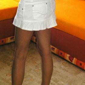 Bílá sukně  Fishbone - foto č. 1