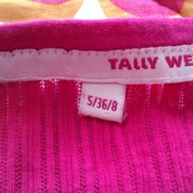 Růžové tričko Tally Weijl - foto č. 1