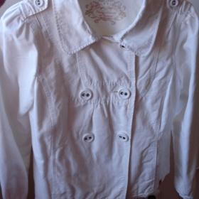 Bílý kabátek Refree