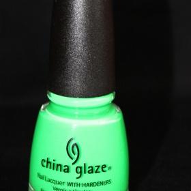 Lak na nehty China glaze poolside collection Kiwi cool-ada - foto �. 1