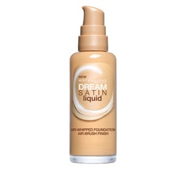 Maybelline dream satin liquid make-up, odst�n nude - foto �. 1