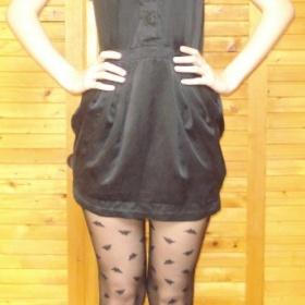 Saténové šaty Pepe jeans - foto č. 1