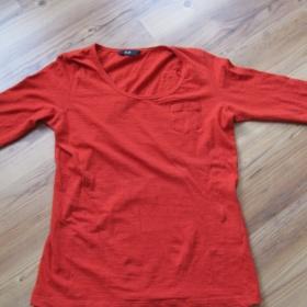 Oranžové tričko F&F - foto č. 1