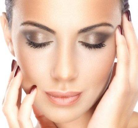 Líčení očí bez použití očních linek