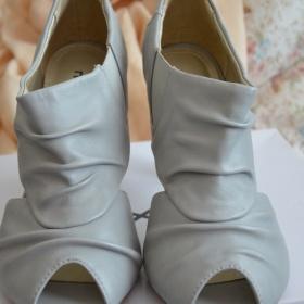 Šedé sandálky - Mixer - foto č. 1