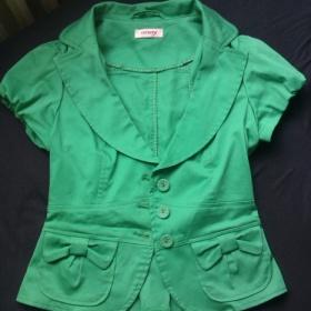 Zelen� sako z Orsay s kr�tk�m ruk�vem - foto �. 1