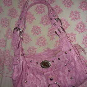 Menší kabelka růžové barvy - foto č. 1