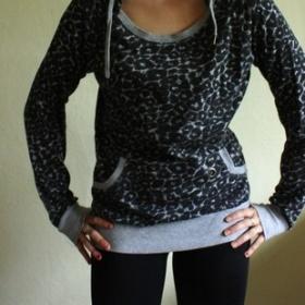 Leopardí mikina Fishbone - foto č. 1