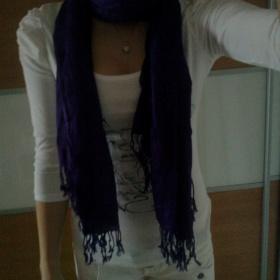 Purpurový šál - foto č. 1