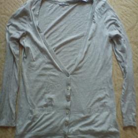 Šedý bavlněný svetřík Terranova - foto č. 1