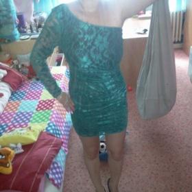 Zelené šaty Goddess - foto č. 1