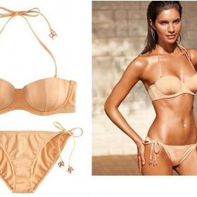 8e87e8f998 Nude plavky z H M s motýlky - Bazar Omlazení.cz