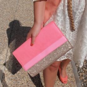 Růžové psaníčko, H&M - foto č. 1