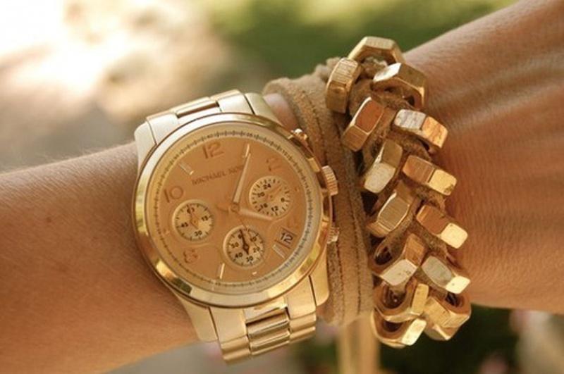 852fb8486b Model zlatých hodinek Michael Kors - Diskuze Omlazení.cz