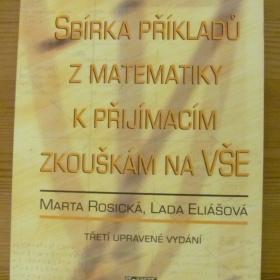 Sbírka příkladů z matematiky k přijímacím zkouškám na VŠE - foto č. 1