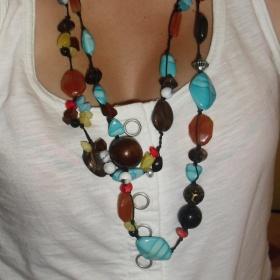 Barevný náhrdelník - foto č. 1