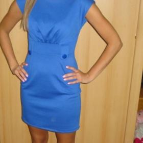 Šaty královsky modré  F&F - foto č. 1