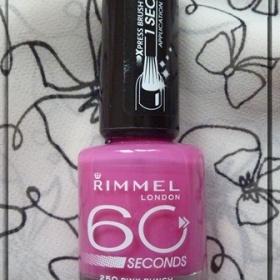 Lak na nehty Rimmel 60 second´s odstín Pink punch - foto č. 1