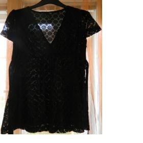 Černé triko H&M - foto č. 1