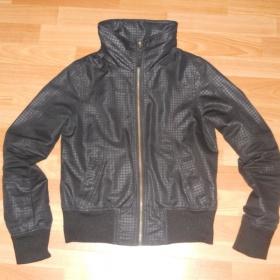 Černá jarní/podzimní bunda Fishbone