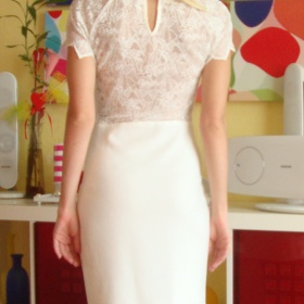 Bílé šaty Zara - foto č. 1