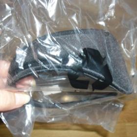 Černá neviditelná samodržící tanga C - String - foto č. 1
