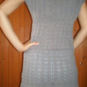 Del�� �ed� svetr s kr�tk�m ruk�vem Takko - foto �. 1