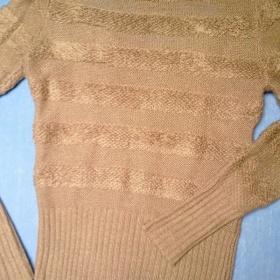 Světle hnědý teplý svetr Tally Weil - foto č. 1