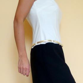 Smetanovo - černé pouzdrové šaty Orsay - foto č. 1