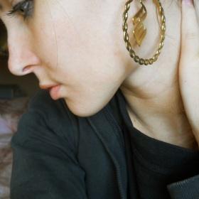 Naušnice zlaté Rocawear - foto č. 1