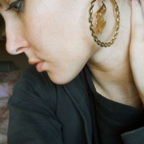Naušnice zlaté Rocawear