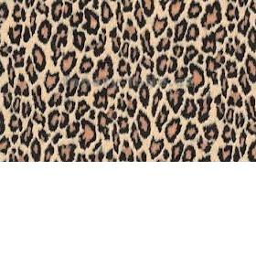 Leopardí šátek béžovo hnědo černý - foto č. 1