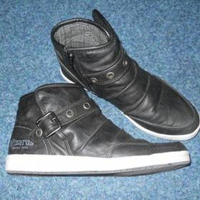 Černé jarní/podzimní boty