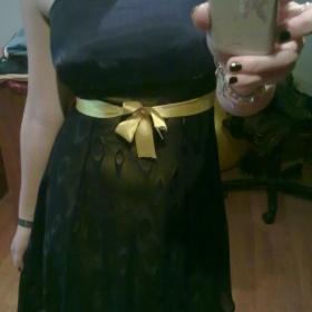 Černožluté šaty - foto č. 1