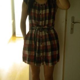 Kostkované šaty H&M - foto č. 1