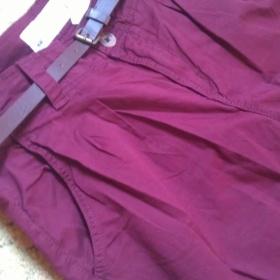 Purpurov� kalhoty H&M - foto �. 1