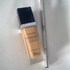 Make - up Dior a tužka na oči Dior - foto č. 1