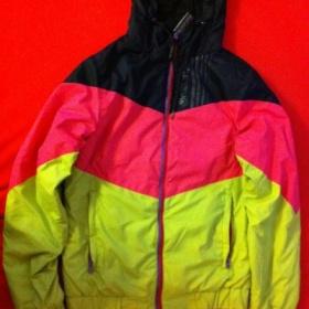 Tříbarevná podzimní/zimní bunda Meatfly Retro - foto č. 1