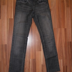 Černé riflové kalhoty Amisu - foto č. 1