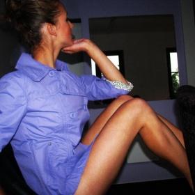 Lehký fialový kabátek Time out - foto č. 1