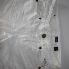 Bílé jeany Replay - foto č. 1