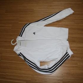 Bílá mikina Adidas - foto č. 1