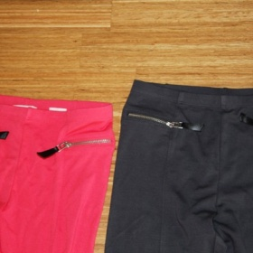 Lososové kalhoty/legíny HM - foto č. 1