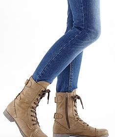 Šněrovací zimní boty - foto č. 1
