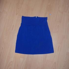 Modrá pasová sukně Fishbone - foto č. 1