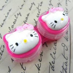 Pouzdro na čočky Hello Kitty - foto č. 1