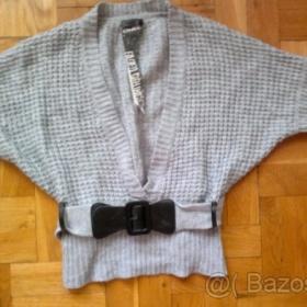 Šedá svetrová tunika Only - foto č. 1