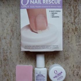 Orly Nail Rescue Boxed Kit - set pro opravu prasklých nehtů - foto č. 1