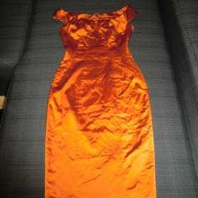 Pouzdrov� oran�ov� �aty Orsay - foto �. 1